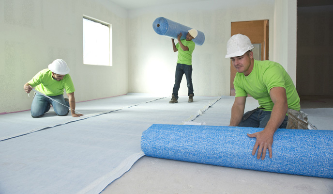 Floor Underlayments And Sound Control Mats By Hacker