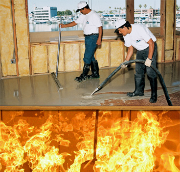 Hacker floor underlayments product benefits fire rated for 1 hour fire rated floor assembly
