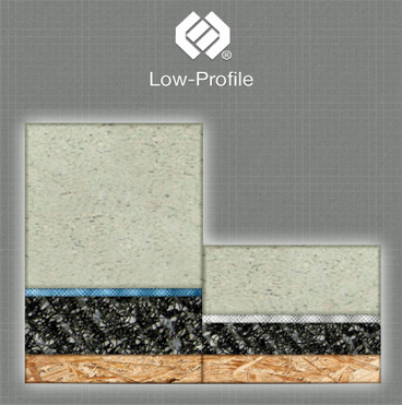 Low Profile Floor Underlayments